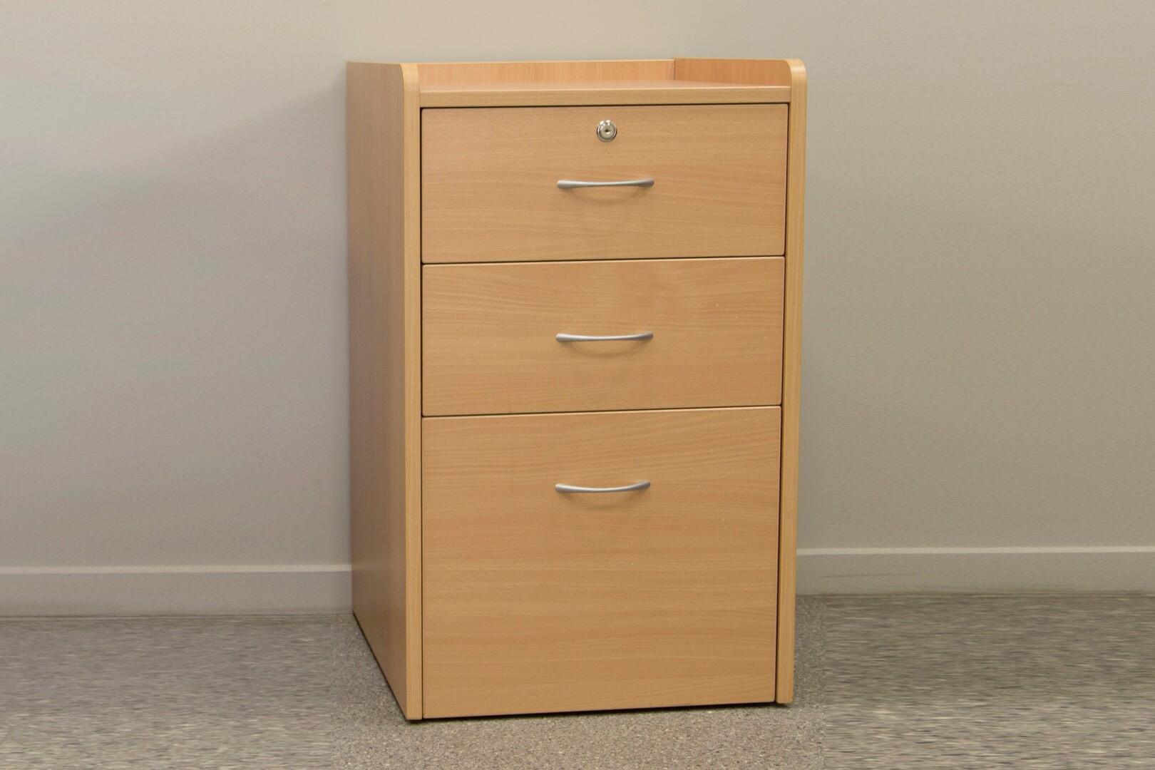 Bed Side Locker 3 Draw